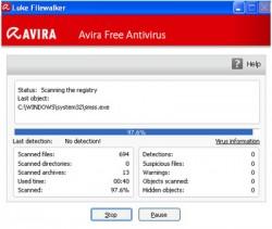 Бесплатный антивирус Авира
