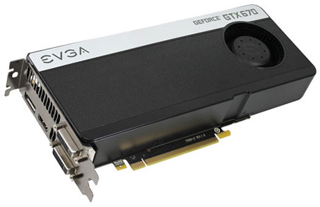 Видеокарта NVIDIA GTX670