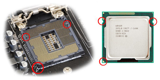 Сокет и процессор INTEL
