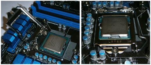 Установка процессора INTEL
