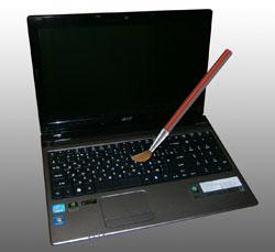 Уход за ноутбуком
