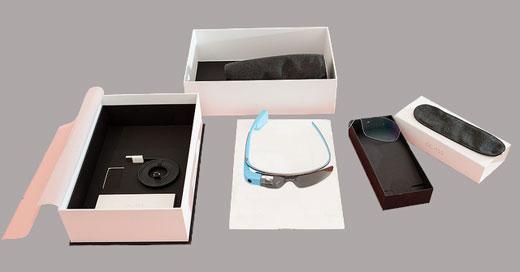Упаковка очков Google Glass