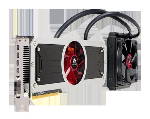 Видеокарта Radeon R9 295X2