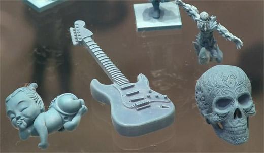 3D-модели созданные на 3D-принтере